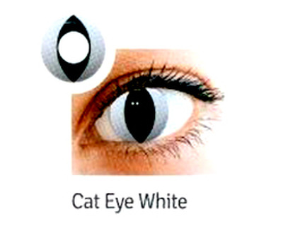 LENTI A CONTATTO CAT EYE WHITE