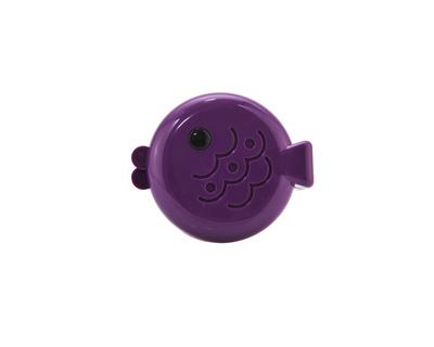 Porta lenti a contatto Centrostyle fish viola
