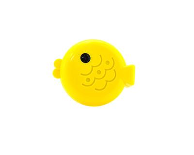 CENTRO STYLE Porta lenti a contatto fish giallo
