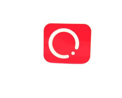 Porta lenti a contatto Centrostyle circle rosso