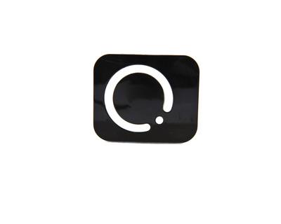 Porta lenti a contatto Centrostyle circle nero