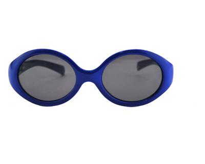 CENTRO STYLE Occhiali da sole Junior colore blu, tondo, lente nera 16986
