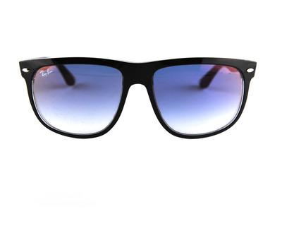 Occhiali da sole Ray ban colore nero , squadrato, lente blu rb4147