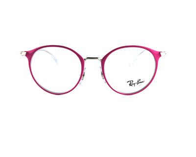 Occhiali da vista Ray Ban Junior colore rosa, tondo ry1053