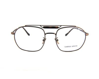 Occhiali da vista giorgio Armani, colore bronzo, squadrato ar5084