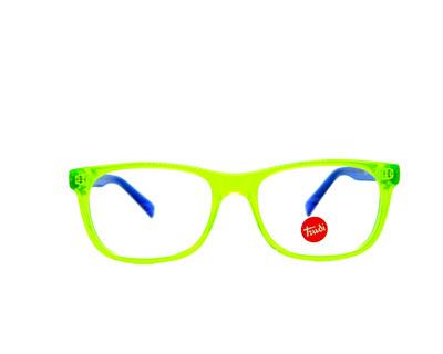 Occhiali da vista Trudi Junior colore giallo fluo, squadrato , td334