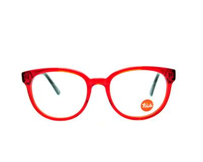 Occhiali da vista Trudi Junior colore rosso, tondo, td134
