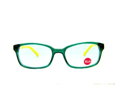 Occhiali da vista Trudi Junior colore verde , squadrato, td315