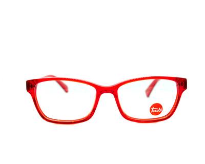 Occhiali da vista Trudi Junior colore rosso, rettangolare td233