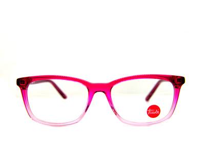 Occhiali da vista trudi Junior colore rosa , squadrato td125