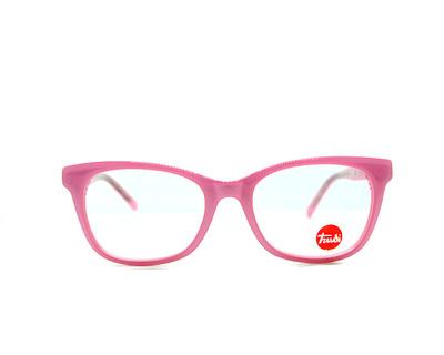 Occhiali da vista Trudi Junior colore rosa, squadrato td130