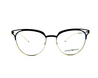 Occhiali da vista Emporio Armani colore argento, tondo ea1082