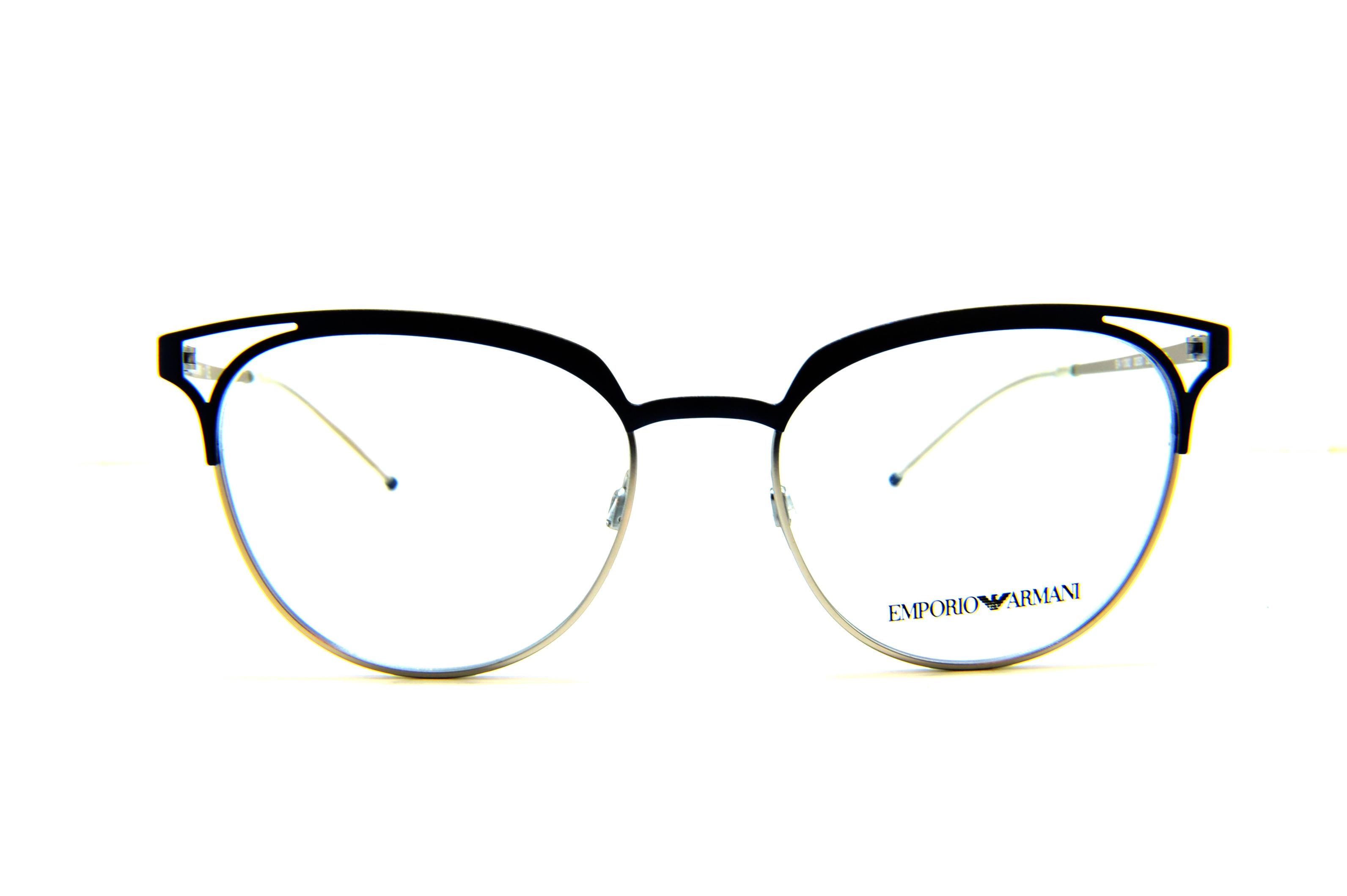 scarpe di separazione 892da 32154 EMPORIO ARMANI Occhiali da vista colore argento, tondo ea1082 - Ottica  Tirone
