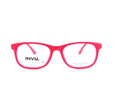 INVU Occhiali da vista Junior colore rosso, squadrato k4903