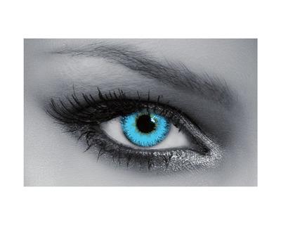 QUEEN'S Lenti a contatto colorate graduate Blue