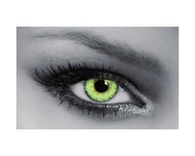 QUEEN'S Lenti a contatto colorate graduate Light Green