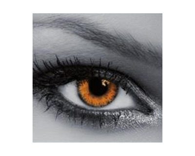 QUEEN'S Lenti a contatto colorate Trilogy Amber