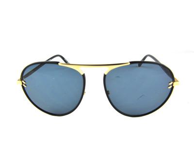 STELLA MCCARTNEY Occhiali da sole colore nero, tondo , lente grigia sc0133s