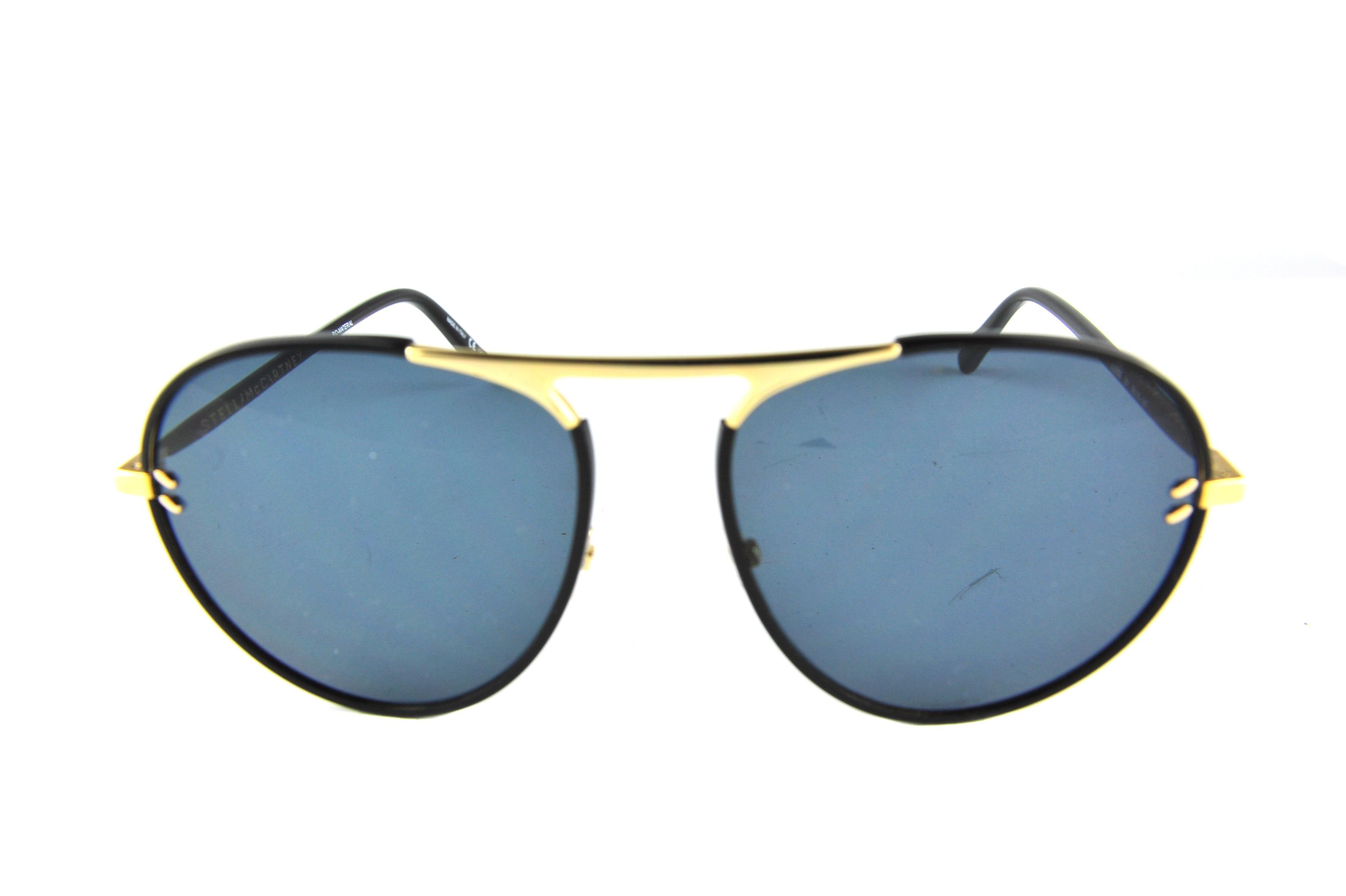 comprare bene elegante moda STELLA MCCARTNEY Occhiali da sole colore nero, tondo , lente ...