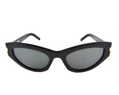 SAINT LAURENT Occhiali da sole colore nero, cat.eye, lente grigia sl215