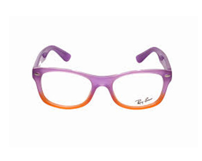 RAY BAN Junior  Montatura da vista colore viola sfumato, squadrata