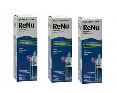 RENU Fresh Lens Comfort promo 3x360ml