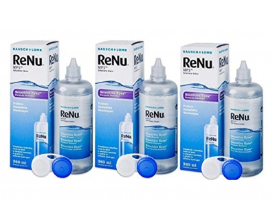 RENU Sensitive eyes Promo 3x360ml