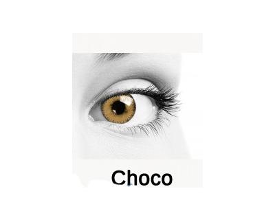 QUEEN'S Lenti a contatto colorate graduate Choco