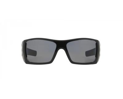 Occhiali da sole sportivi Oakley colore nero, rettangolare, lente grigia oo9101
