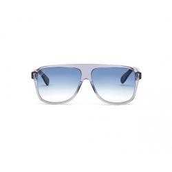 CR7 ITALIA INDEPENDENT Occhiale da sole colore grigio, a mascherina, lente blu
