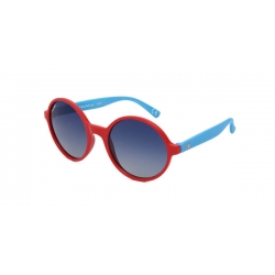 POLAR Occhiali da sole Junior colore rosso, tondo, lente blu sfumata